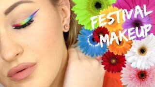 Hi loves! Finally, after 3 weeks, I'm back with a tutorial! I wanted to do something fun and festival inspired so I hope you will enjoy.Follow me on Insta: @srosebeauty Please like and subscribe :) xoxoBusiness Inquiries:contactsavannahrose@gmail.comShop unique accessories & more: http://Dollfacedcreations.etsy.comCoupon codes:$10 off PAULA'S CHOICE SKINCARE & MAKEUP:http://goo.gl/T0syzjProducts used:MAC Painterly Paint PotABH Banana PowderABH Fawn Contour PowderNYX Milk Jumbo PencilUrban Decay Electric PaletteVegas Nay Easy Elegance Lasheself Blush Palette (Dark)ABH Java Contour PowderNYX Micro Brow Pencil (Ash Brown)NYX Nude Beige Lip LinerWet n Wild Just Peachy Lipstick