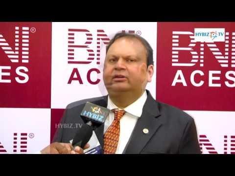 , Vinit Jain President BNI Aces Chapter Secunderabad
