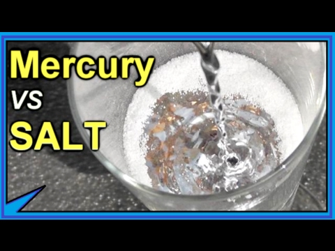 Salt - What the what? Jeff uploaded something besides a GUN video? Why am I speaking in third-person? How is this even possible? We pour mercury on top of table sal...