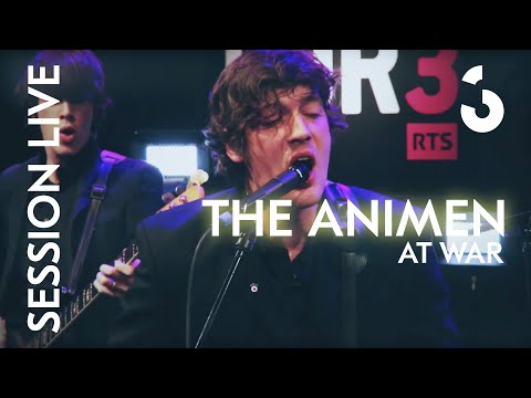The Animen - At War - Session Live