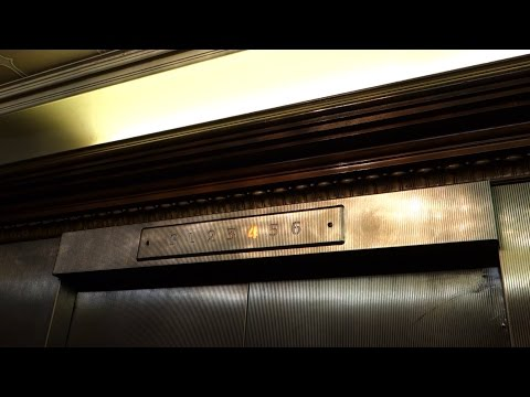 ELEGANT!!! OTIS (mod.) Traction Elevators @ The Hotel Roanoke & Conference Center, Roanoke VA, USA.