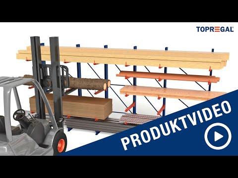 Produktvideo Kragarmregale