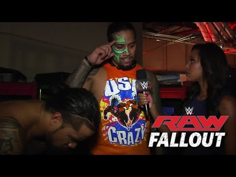 raw - The Usos say they want retribution for Gold & Stardust's actions on Raw.