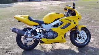 8. 2000 Honda Superhawk 996