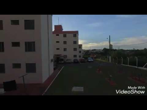 Primeiro voo com o drone em Cordeirópolis