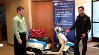 10. 2012 Kymco Scooter Giveaway