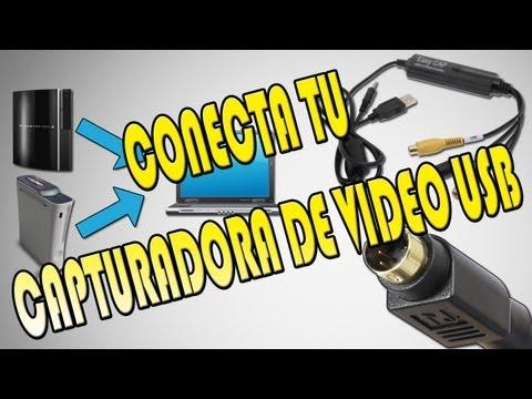 [Tutorial] Como conectar capturadora de vídeo USB con cable S-Vídeo