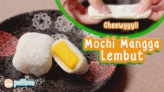 Video MEMBUAT MOCHI MANGGA LEMBUT | MANGO MOCHI RECIPE MP3, 3GP, MP4, WEBM, AVI, FLV Mei 2019