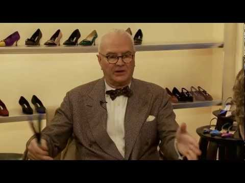 MANOLO BLAHNIK INTERVIEW on BARUCH.tv