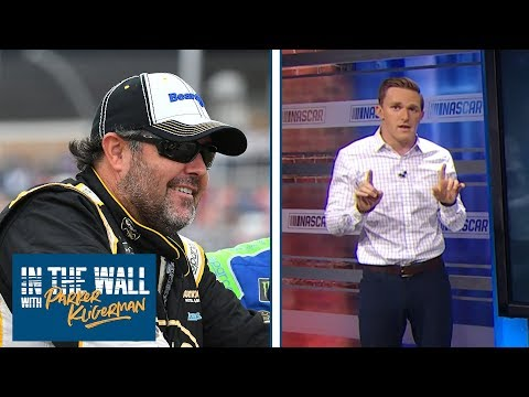Brendan Gaughan's flip at 'Dega compared to Simone Biles | In the Wall Ep. 8 | Motorsports on NBC