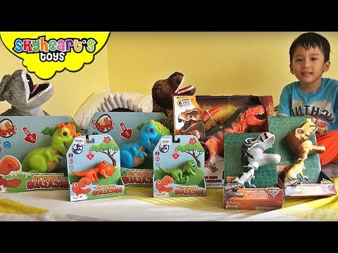 Skyheart's new dinosaur toys | Mighty Megasaur, T-Rex, Dinosaurs for kids