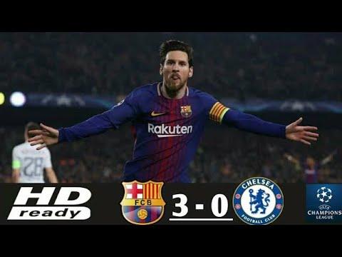 BARCELONA vs CHELSEA 3-0 All Goals & Highlights 14/03/2018 HD