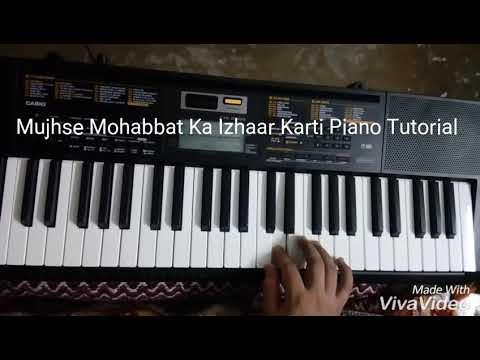 Video Mujhse Mohabbat Ka Izhaar Karti Piano Tutorial download in MP3, 3GP, MP4, WEBM, AVI, FLV January 2017