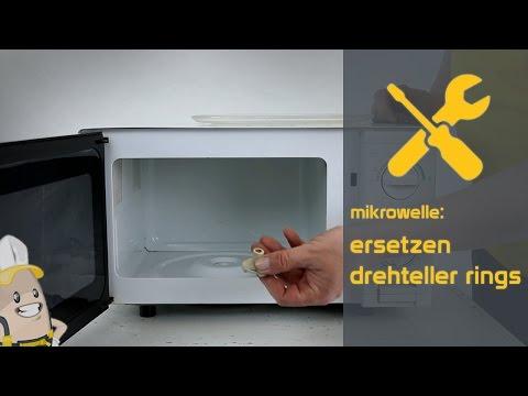 Ersetzen des Drehteller Rings Ihrer Mikrowelle | Das Ersatzteilecenter.de Verfahren