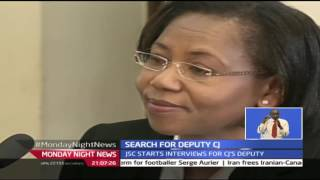 Monday Night News: Search For Deputy Chief Justice Kicks Off With Short-listed Candidates Facing JSC