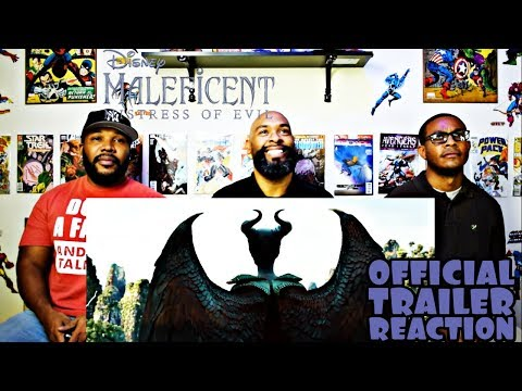 Maleficient 2 : Mistress Of Evil Official Trailer Reaction