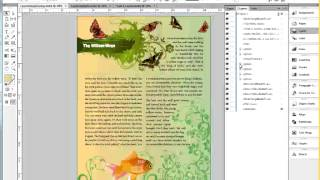 Donna Caldwell CS 72 11A Adobe InDesign 1 Working with Layers 03 11 2013