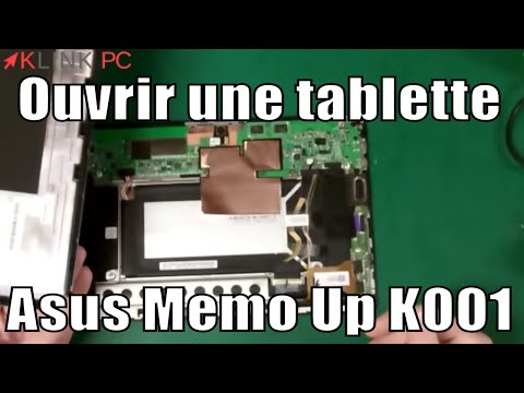 comment ouvrir pc portable asus