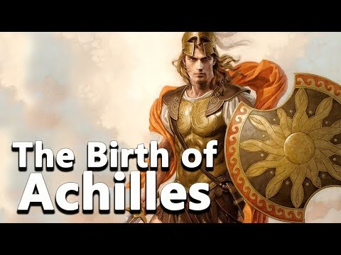 The Birth Of Achilles - Peleus And Thetis - Greek Mythology - See U In History