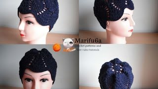 How To Crochet Pineapple Hat Free Pattern Tutorial By Marifu6a