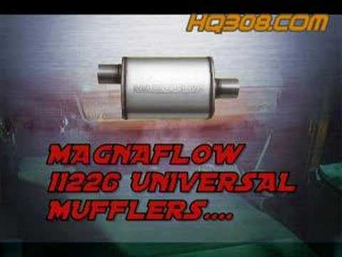 Magnaflow muffler comparison (видео)