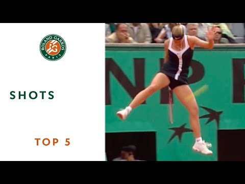 Great - Mary Pierce, Roger Federer, Fernando Gonzalez, Andre Agassi and Michael Llodra deliver five of the best shots in Roland Garros history.