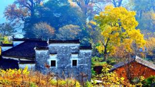 Wuyuan China  City new picture : Jiangxi Wuyuan Shicheng fog autumn - China (HD1080p)