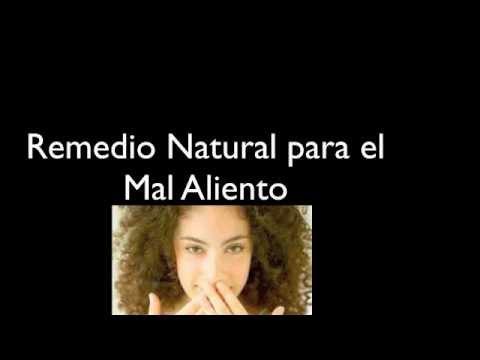 Remedio Natural para el Mal Aliento. {Natural home remedies for bad breath}