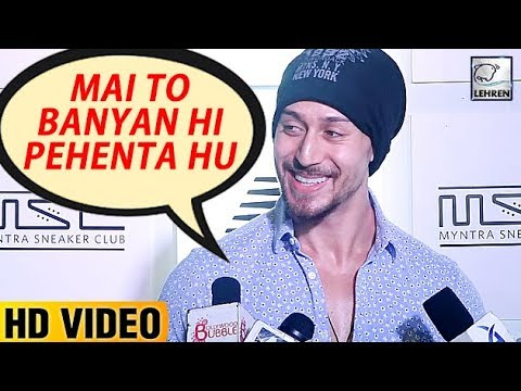 Tiger Shroff's Cute Answer To Media Reporters' Que