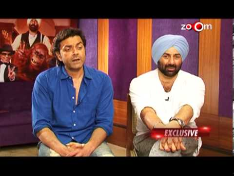 Sunny & Bobby Deol talk about doing in-house films