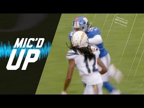 Video: Janoris Jenkins Mic'd Up Battling High School Rival Travis Benjamin (Week 5) | NFL Sound FX