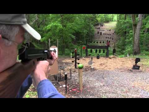 Thompson - Shooting and showing the Auto Ordnance Thompson M1 A1 in SBR configuration. Thanks again to NCSilencer.com http://ncsilencer.com/ http://www.youtube.com/user...