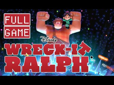 Wreck-It Ralph FULL GAME Movie Longplay Walkthrough (Wii, 3DS)