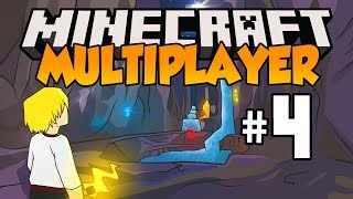 Minecraft Multiplayer Survival - Let's Play: Episode 4 - SO MUCH DIAMOND! (Part 4)