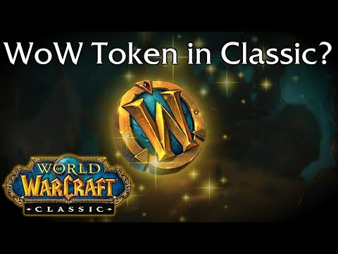 Should the WoW Token be in Classic WoW?