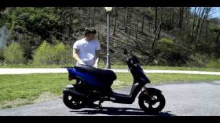 7. 2009 KYMCO Agility 125 Scooter Review