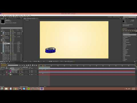 After Effects CS6 Tutorial - 21 - Keyframe Velocity And Easy Ease