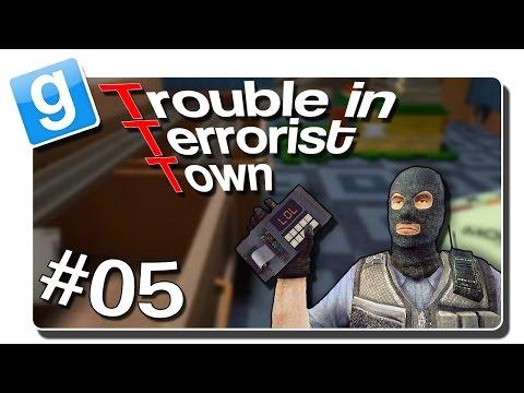 Garrys Mod - I BELIEVE I CAN FLY  TTT #05  Trouble in Terrorist Town  GamepadHero