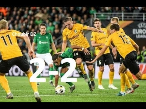 Oleksandria Vs Saint-Étienne 2-2 UEFA Europa League 07/11/2019