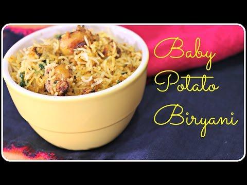 Baby Potato Biryani