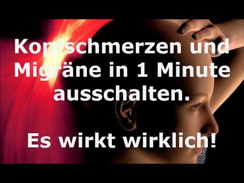 Migräne und Kopfschmerzen innerhalb von 1 Minute ausschalten! Mit diesem natürlichen Heilmittel