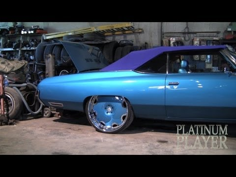"""Black & Red Chevy Caprice Convertible Donk on 26"""" Forgiatos - 1080p HD"""