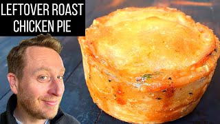 Fast & simple Leftover Roast Chicken & Ale Puff Pastry Pie from my own restaurant menu | Food Busker by Food Busker