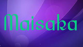Maisaka Ingat Ingat Kamu (Lyric Video)