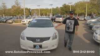 Autoline Preowned  2012 Nissan Altima 2.5 For Sale Used Walk Around Review Test Drive Jacksonville
