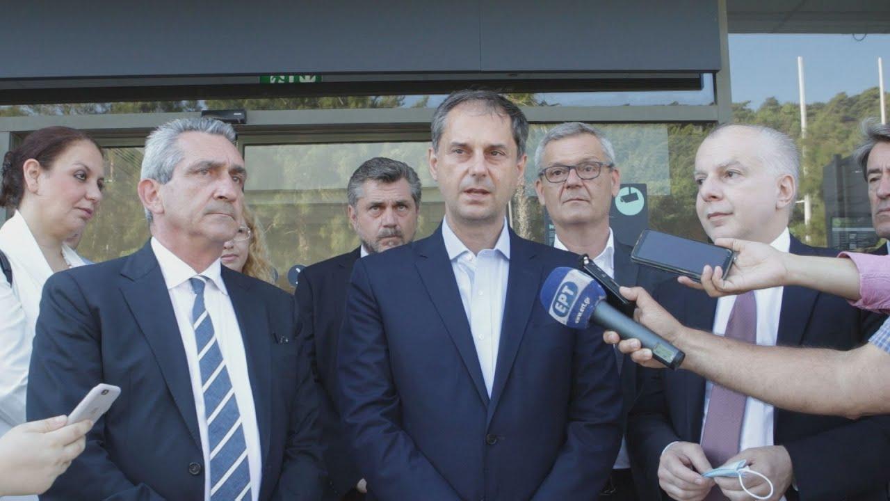 Δήλωση του υπουργού Τουρισμού Χάρη Θεοχαρη από τη  Ροδο