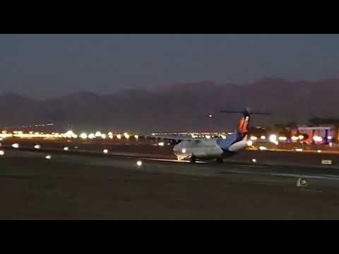 נפרדים משדה התעופה באילת. צילום: עידן בוכמן