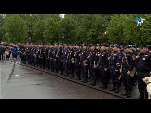 Более 100 новгородских полицейских отправились в служебную командировку в Дагестан