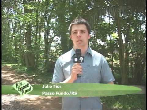 Reportagem sobre irrigação por malha