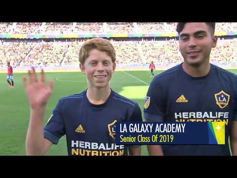 The Graduating LA Galaxy Boys' Academy Seniors Were Recognized During #LAvCOL